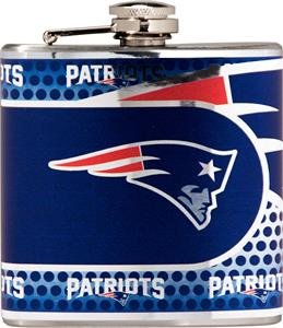 NFL New England Patriots Stainless Steel Flask