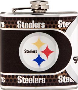 NFL Pittsburgh Steelers Stainless Steel Flask