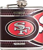 NFL San Francisco 49er's Stainless Steel Flask