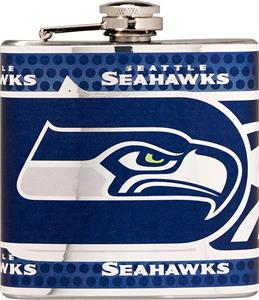 NFL Seattle Seahawks Stainless Steel Flask