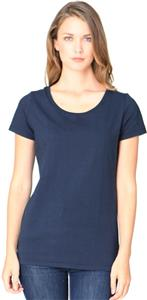 Royal Apparel Womens Bamboo Organic Scoop Neck Tee