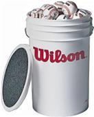 Wilson Baseball Bucket Combo w/3 Dozen Balls