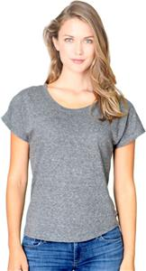Royal Apparel Womens Triblend Dolman Jersey