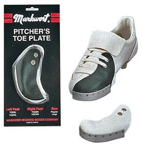 Markwort Aluminum Baseball Pitcher's Toe Plates