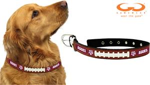 Texas A&M Aggies Classic Leather Football Collars