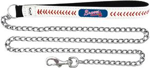 Gamewear Atlanta Braves MLB Chain Pet Leash