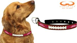 Gamewear Arizona NFL Leather Football Collars
