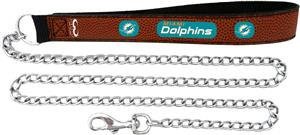 Gamewear Miami Dolphins NFL Chain Pet Leash