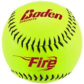 "Baden Fire Slow Pitch Composite 12"" Softballs (DZ)"