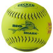 """Decker USSSA Blue Shark 11"""" Fastpitch Softballs PK"""