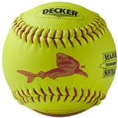 Decker ASA Red Shark Softballs Fastpitch 6PK