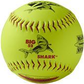 """Decker ASA Red Big Shark 12"""" Slowpitch Softball PK"""
