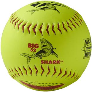 "Decker ASA Red Big Shark 12"" Slowpitch Softball DZ"