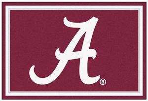 Fan Mats NCAA University of Alabama 5x8 Rug
