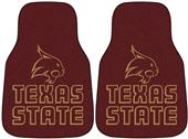 Fan Mats Texas State Univ Deluxe Car Mats (set)