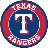 Fan Mats MLB Texas Rangers Roundel Mat