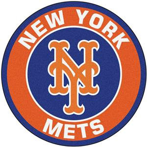 Fan Mats MLB New York Mets Roundel Mat