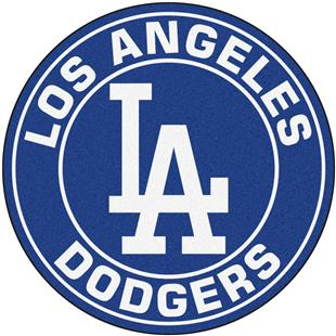 Fan Mats MLB Los Angeles Dodgers Roundel Mat