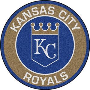 Fan Mats MLB Kansas City Royals Roundel Mat