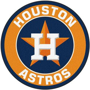 Fan Mats MLB Houston Astros Roundel Mat