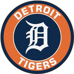Fan Mats MLB Detroit Tigers Roundel Mat
