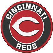 Fan Mats MLB Cincinnati Reds Roundel Mat