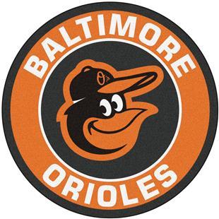 Fan Mats MLB Baltimore Orioles Roundel Mat