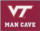 Fan Mats Virginia Tech Man Cave All-Star Mat