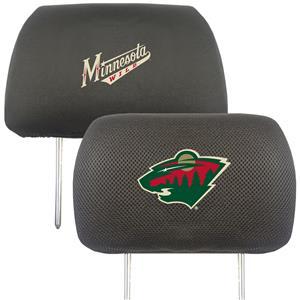 Fan Mats NHL Minnesota Wild Head Rest Covers