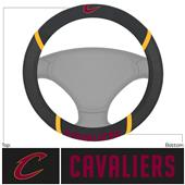 Fan Mats NBA Cleveland Caval Steering Wheel Covers