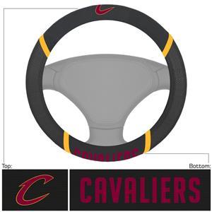 Fan Mats NBA Cleveland Caval Steering Wheel Covers