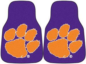 Fan Mats Clemson University Carpet Car Mats (set)