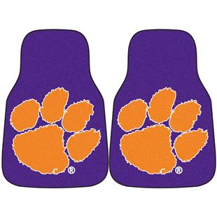 Fan Mats Clemson University Carpet Car Mats (set)