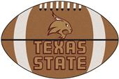 Fan Mats Texas State University Football Mat
