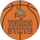 Fan Mats Texas State University Basketball Mat