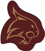 Fan Mats Texas State University Mascot Mat