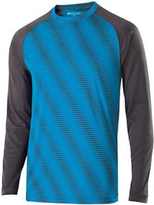 Holloway Adult Youth Long Sleeve Torpedo Shirts