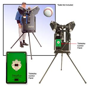 TriplePlay Pro Baseball Pitching Machines