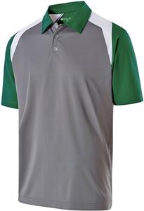 Holloway Adult 3 Button Shield Polos