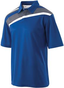 Holloway Adult Snap Front Dignity Polo