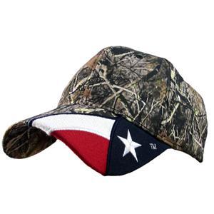 ROCKPOINT Outdoor Camo/Texas Flag Cap