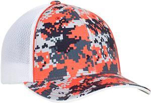 Pacific Headwear Pro-Model Digi Camo Trucker Caps