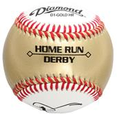 Diamond Gold Home Run Derby Baseball Low Seam