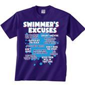 Image Sport Swimmers Excuses Swim Tee