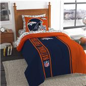 Northwest Broncos Soft & Cozy Twin Comforter Set