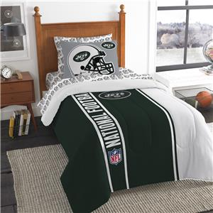 Northwest NFL Jets Soft & Cozy Twin Comforter Set