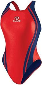 Adoretex Women Guard Wide Strap Splice Swimsuit