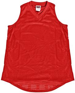 VKM Women's Girls Mesh Basketball Jerseys-CO