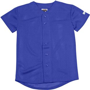 VKM Sports Pro Mesh Button Up Jersey-CO