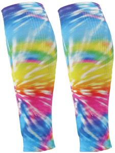 Red Lion Sublimated Tie Dye Compress Leg Sleeves